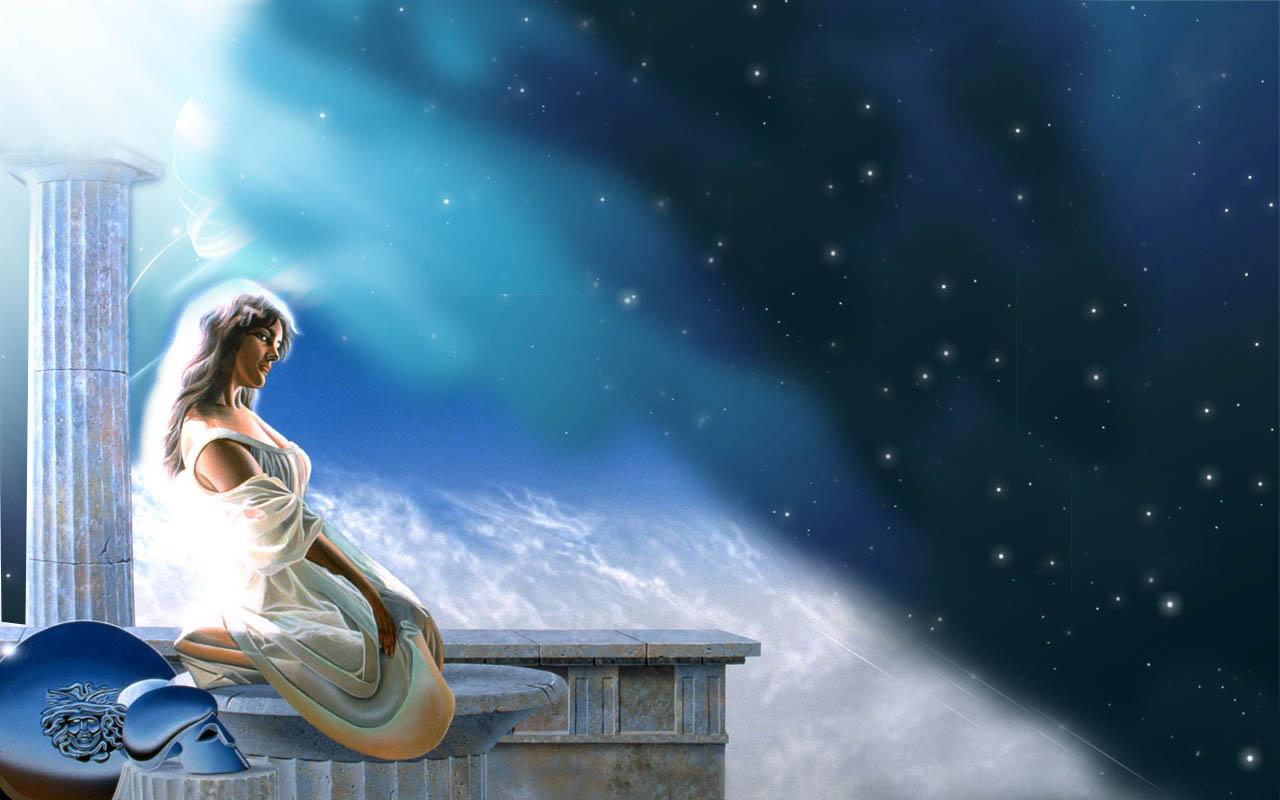 Ancient Greek Mythology Background Greek Goddess W...