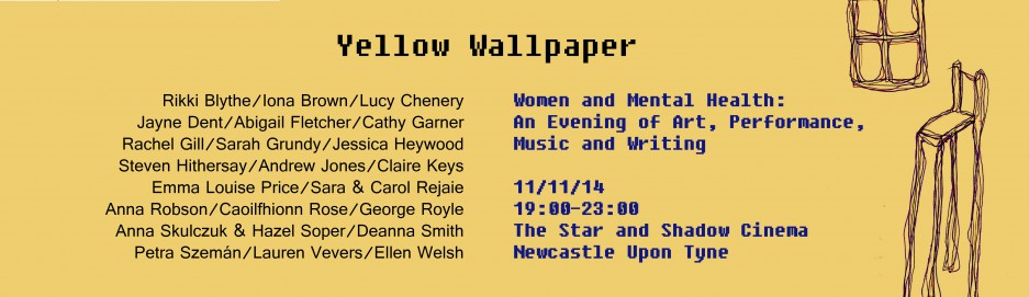 Publicity Documents Yellow Wallpaper Women and Mental Health 937x271