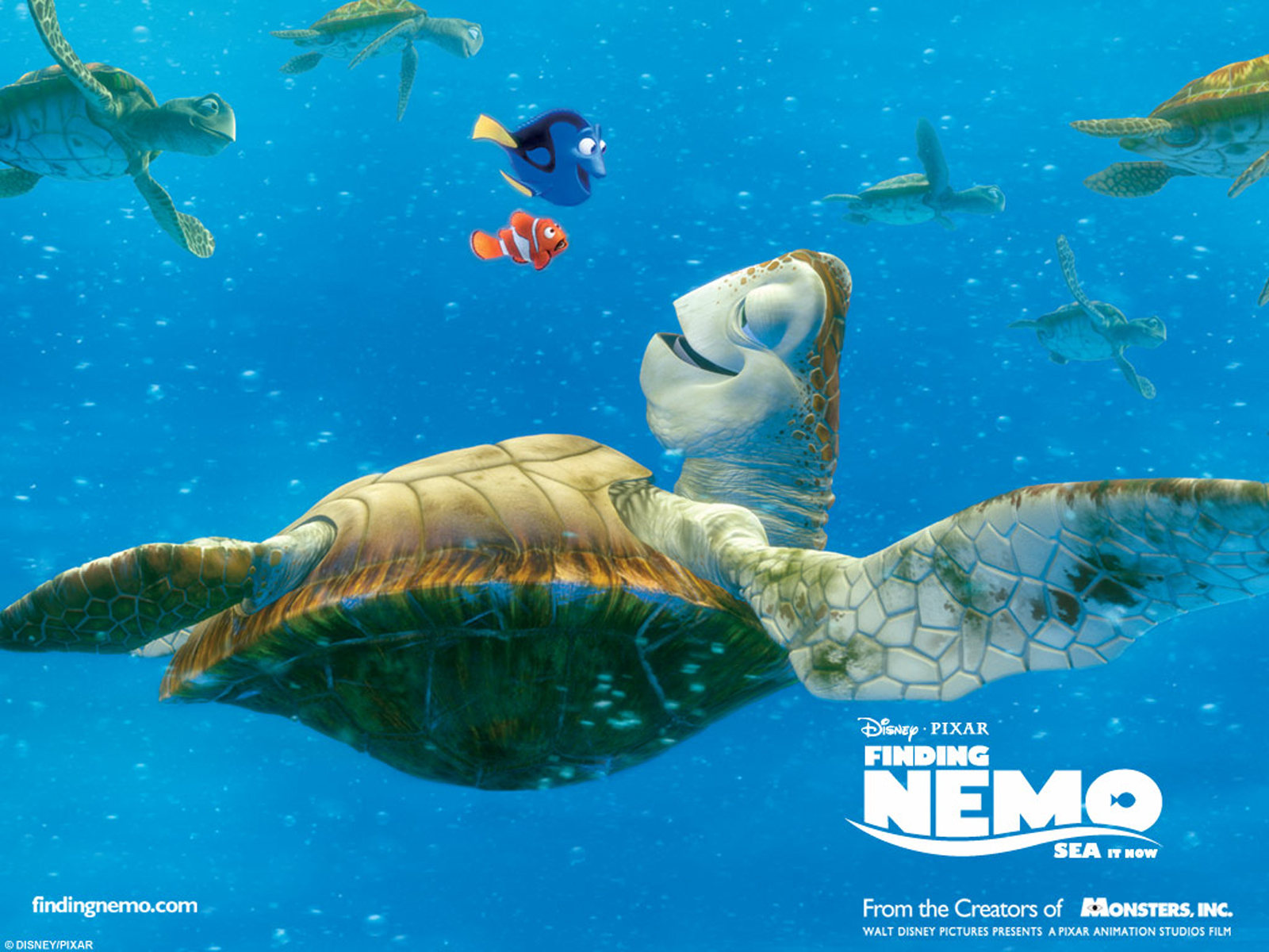 Nemo 3D Movie Poster HD Wallpapers Download Wallpapers in HD 1600x1200