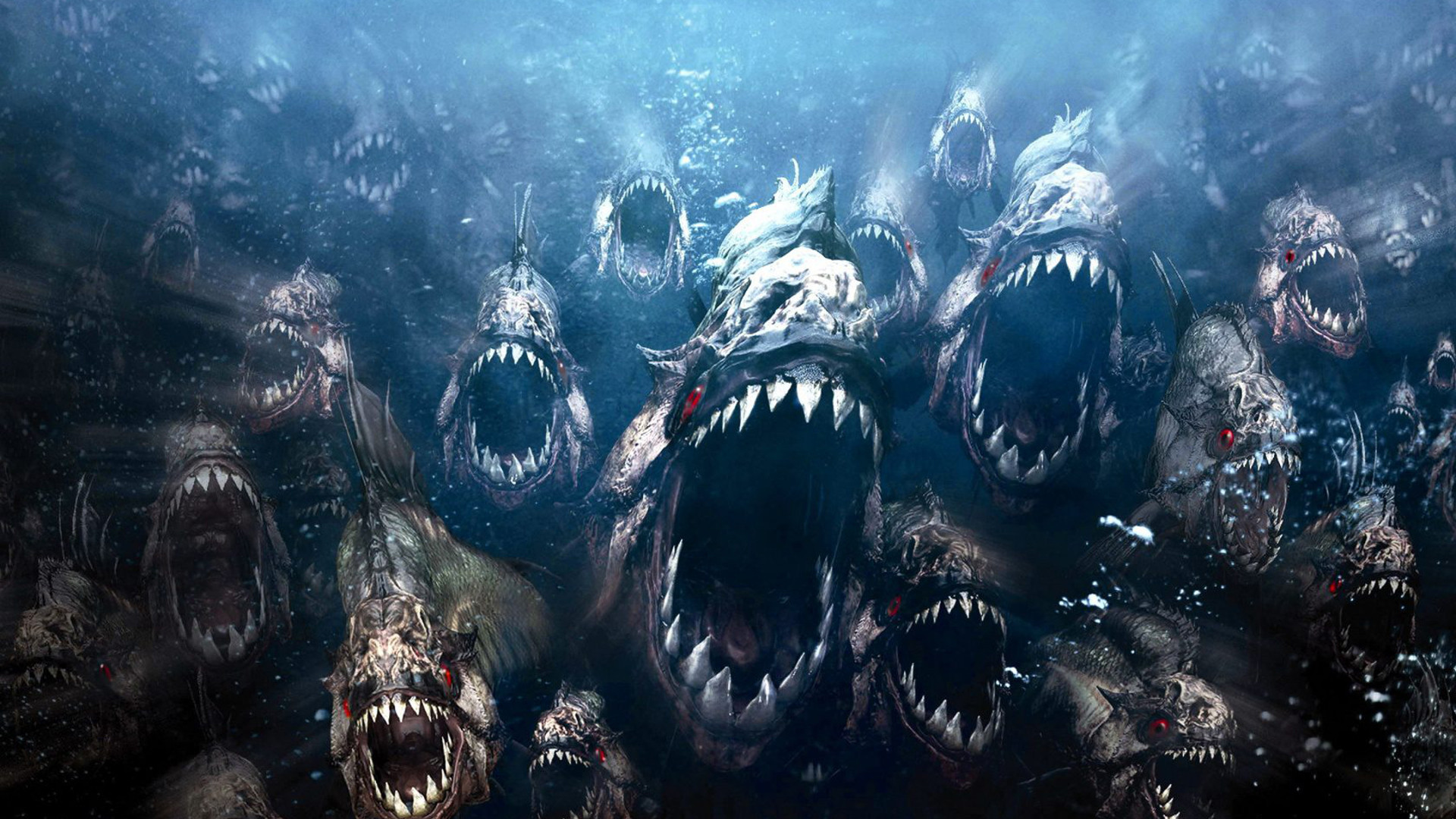 Piranha Movie Wallpaper 1920x1080