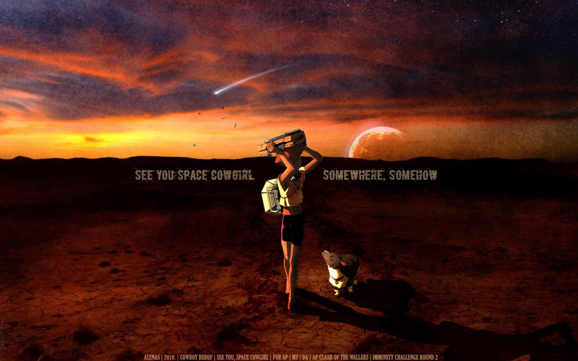 See You Space Cowgirl   Cowboy Bebop Wallpaper 33255923 1920x1200