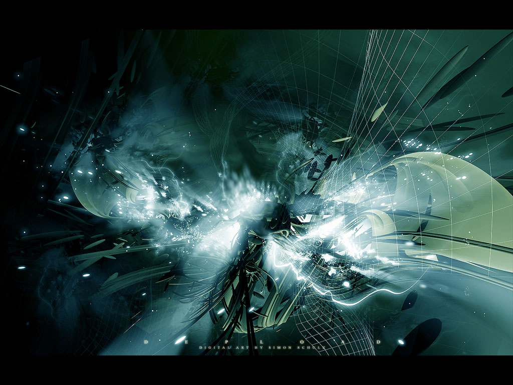 Digital Fantasy Abstact 1 PC Android iPhone and iPad Wallpapers 1024x768