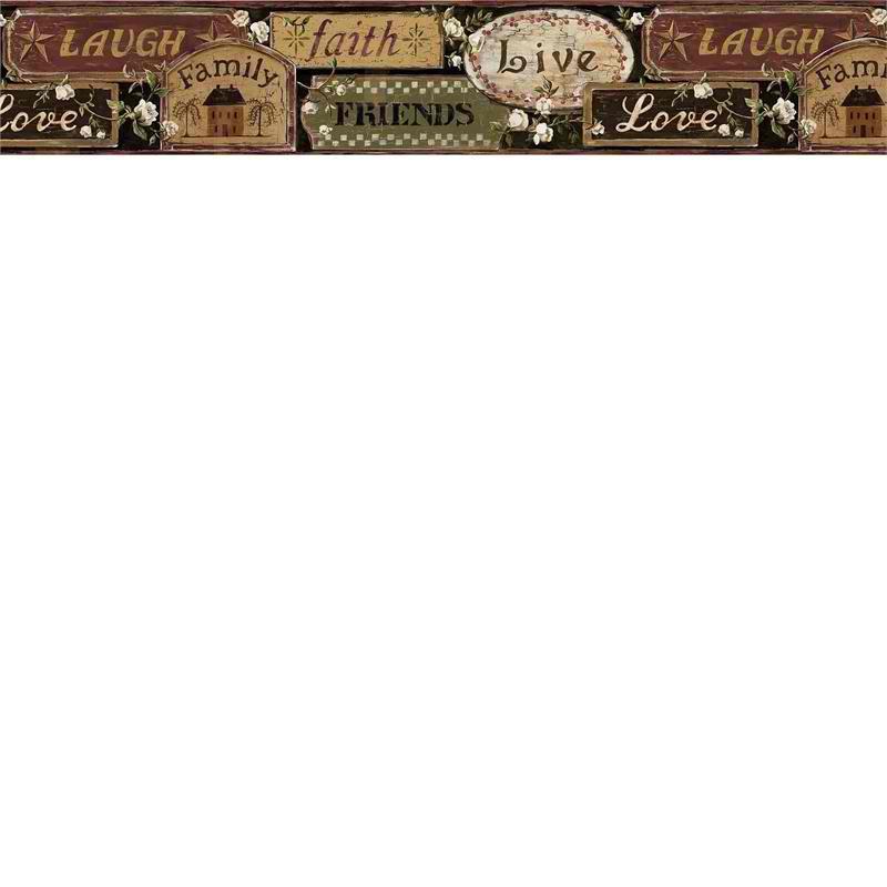 primitive wallpaper border   weddingdressincom 800x800