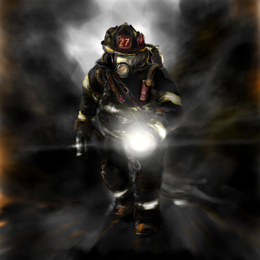 cool firefighter wallpaper wallpapersafari