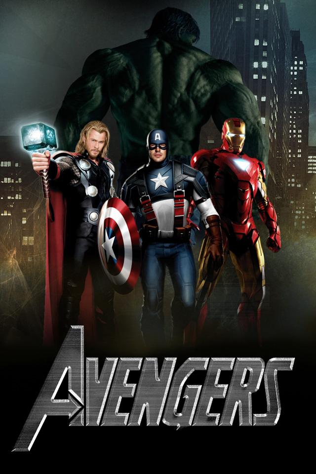 Avengers iPhone Wallpaper HD 640x960