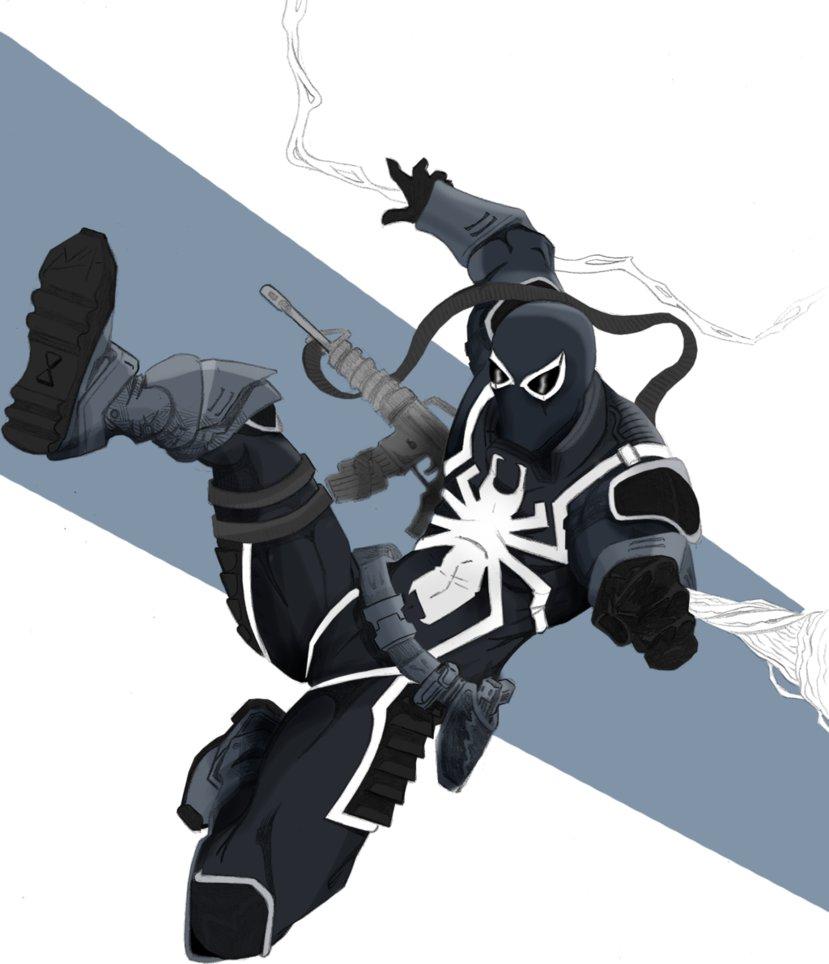 Agent Venom Wallpaper Venom by nikoalecsovich 829x964