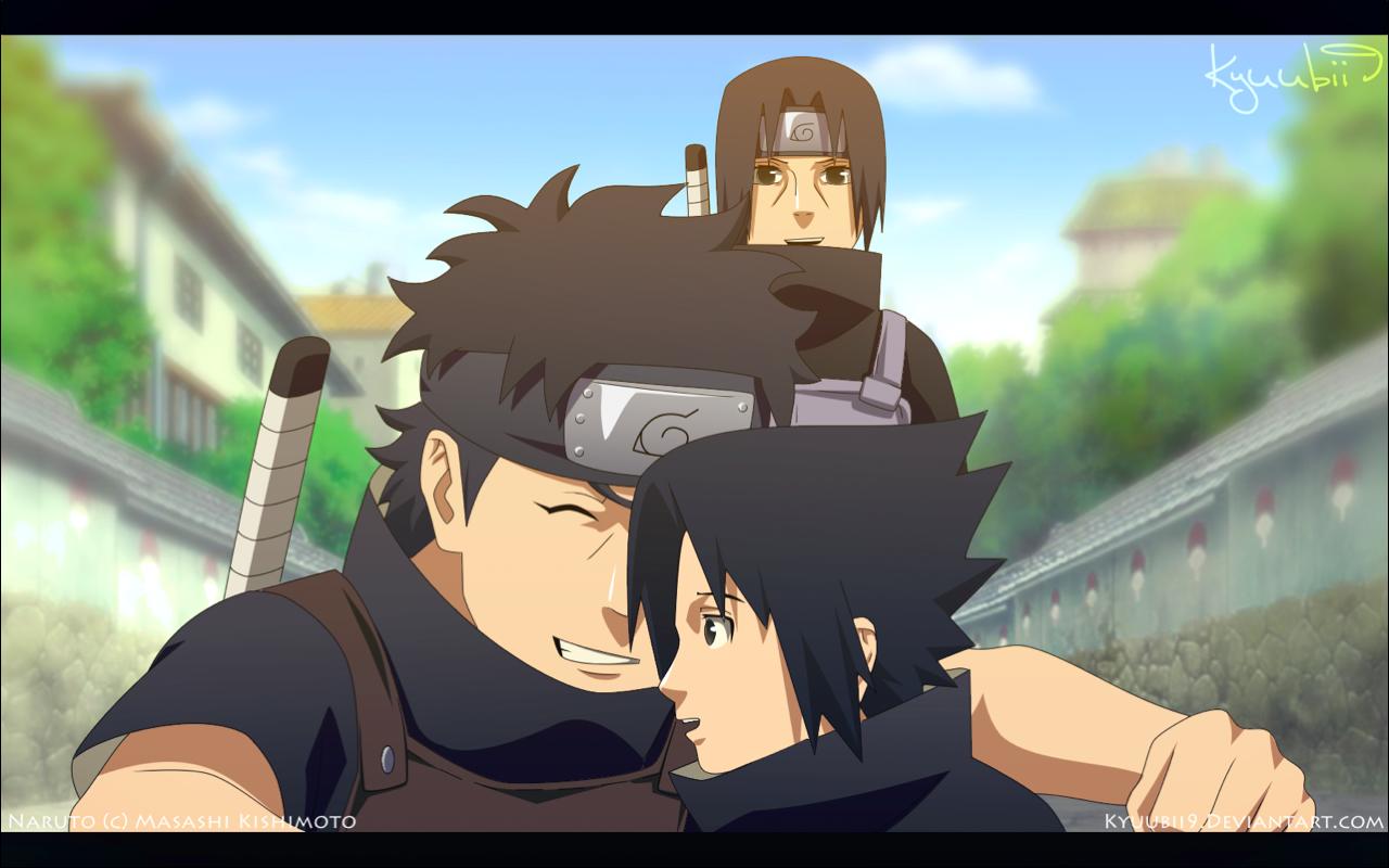 Uchiha Love Shisui itachi and sasuke by Kyuubii9 1280x800