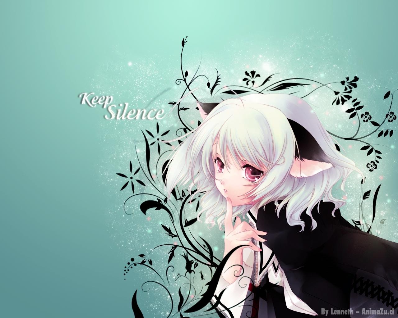 Neko Anime Characters such beauty 1280x1024