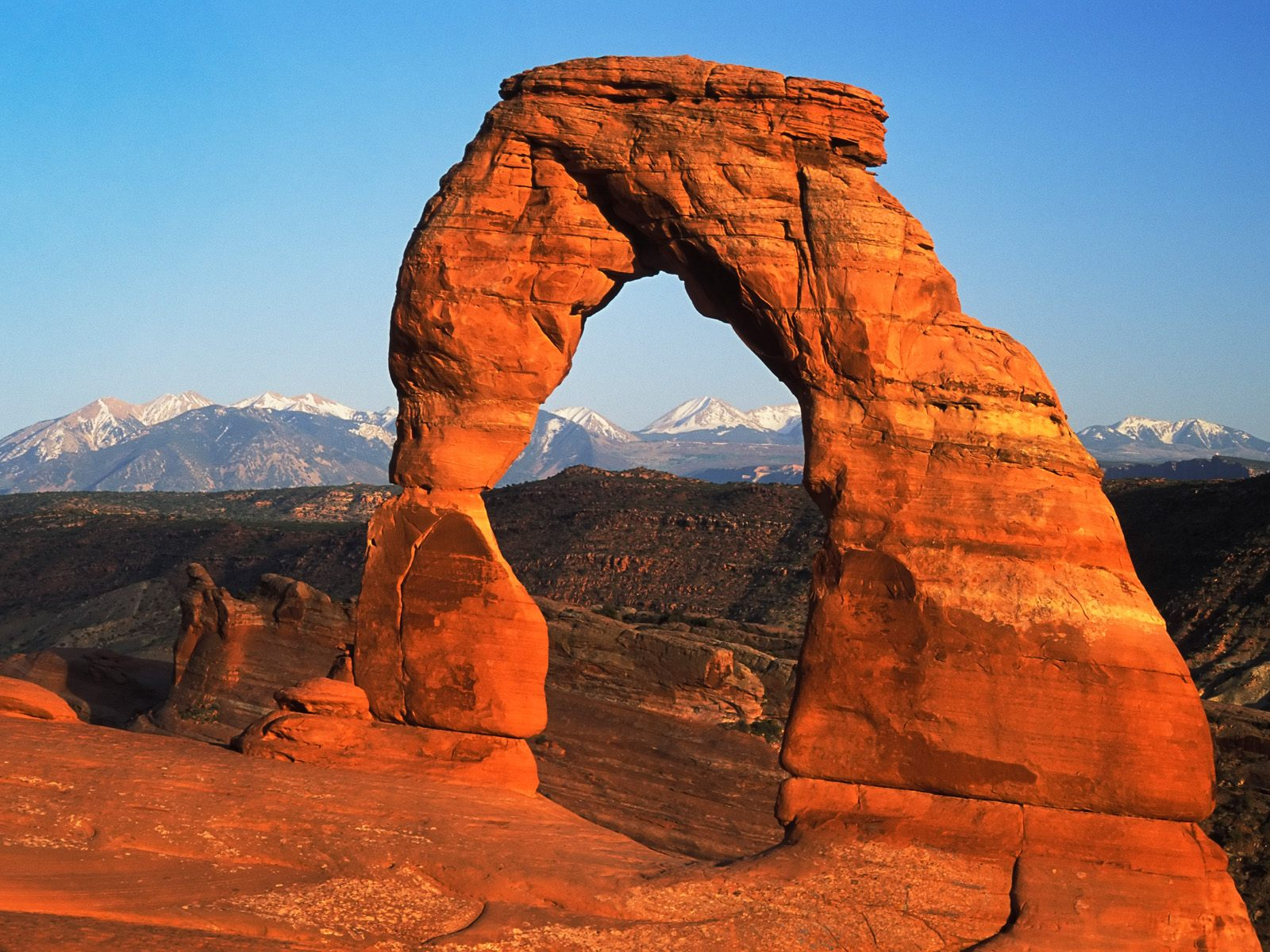Delicate Arch Arches National Park Utah Wallpaper   HQ Wallpapers 1600x1200