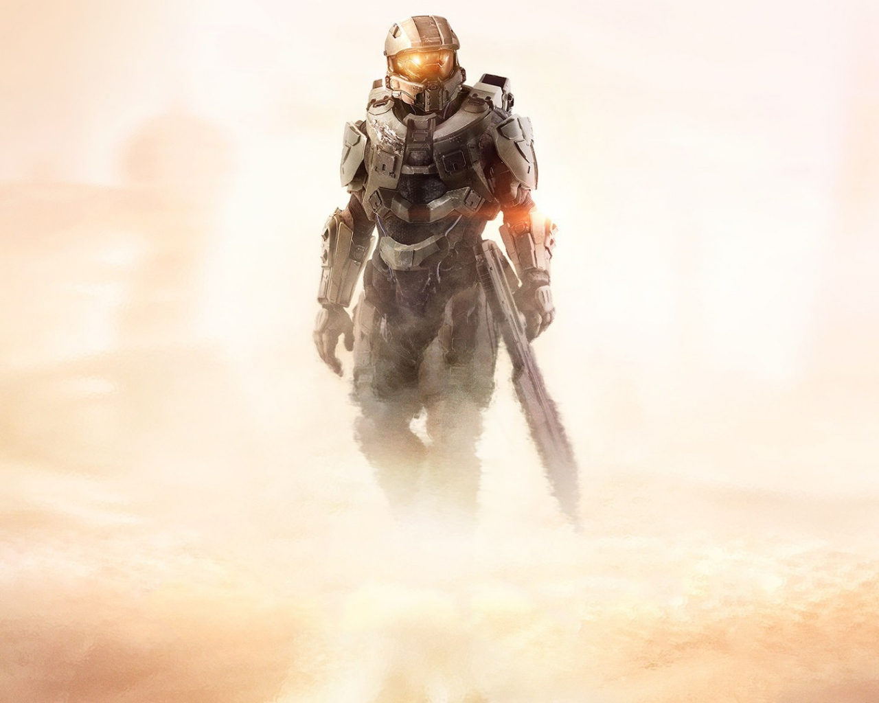 HD Background Halo 5 Guardians Master Chief John Game Wallpaper 1280x1024