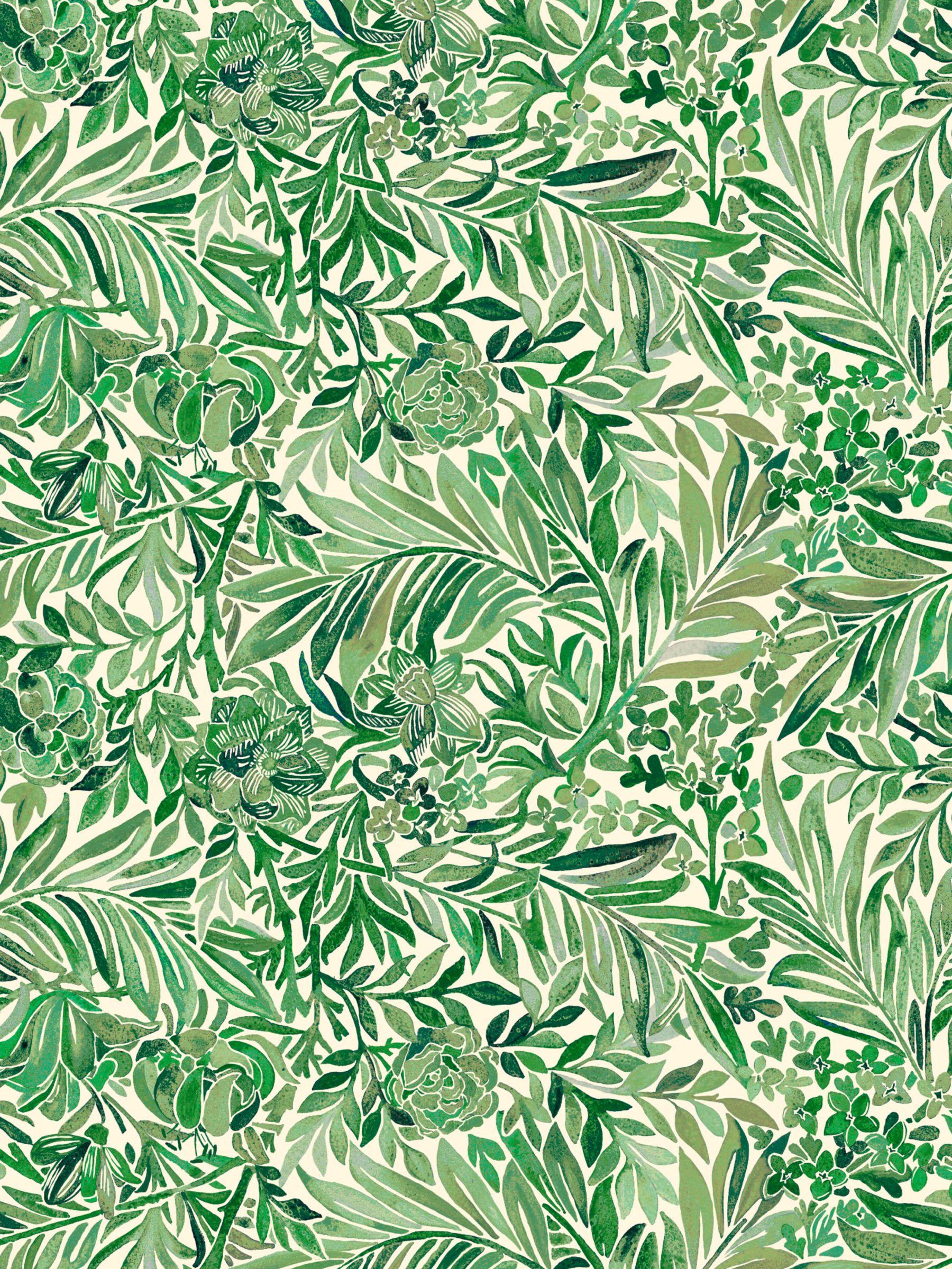 Liberty Wallace Secret Garden Wallpaper at John Lewis Partners 1800x2400