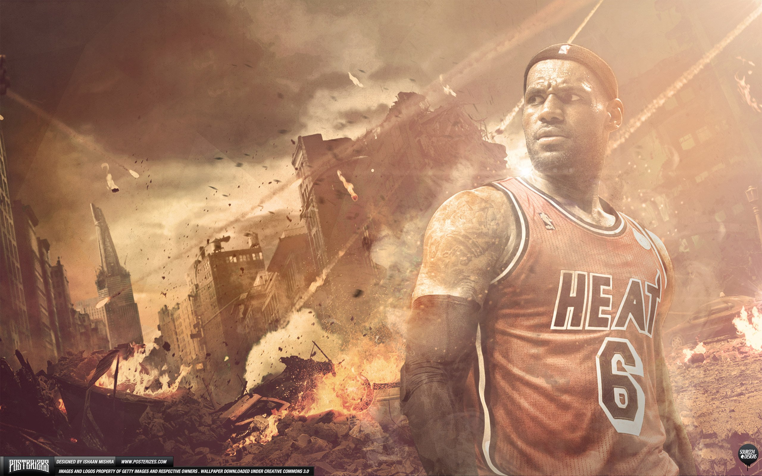 LeBron King James Heat 25601600 Wallpaper Basketball Wallpapers 2560x1600