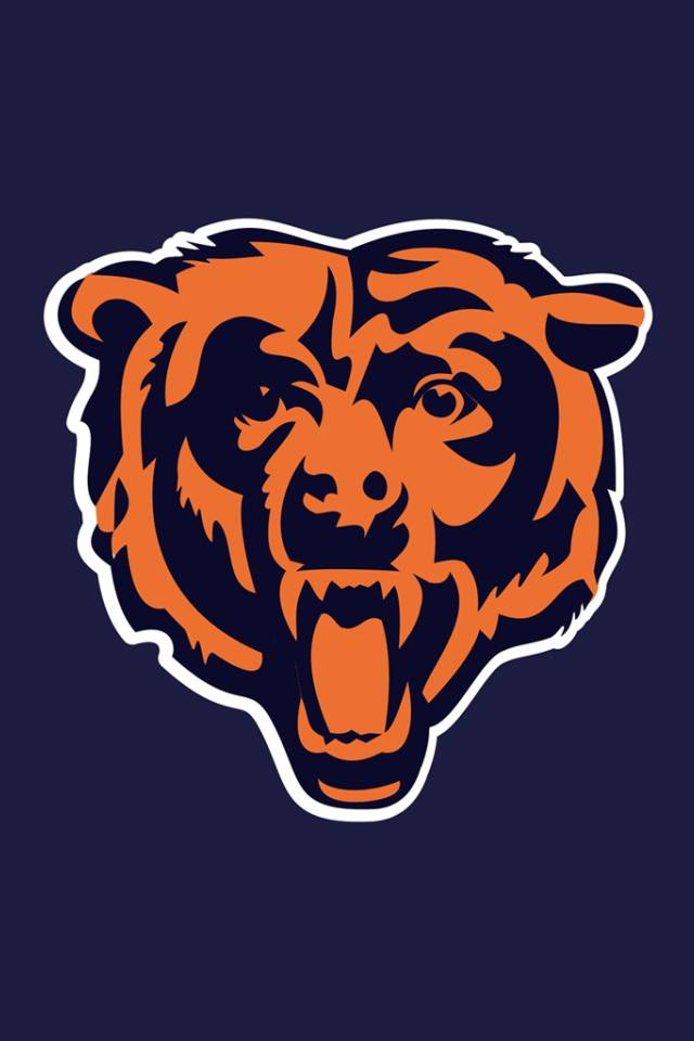 Download for iPhone sport wallpaper Chicago Bears 640x960