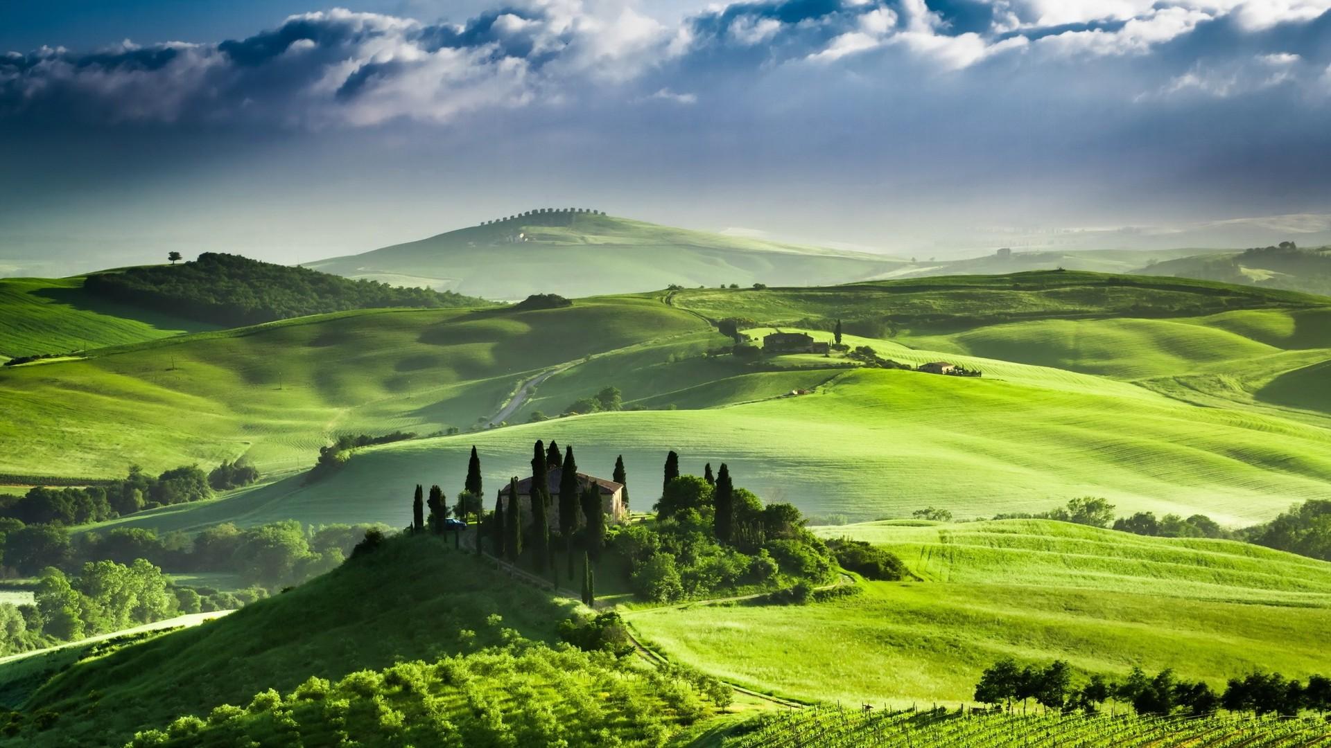 Tuscany Italy 1920x1080