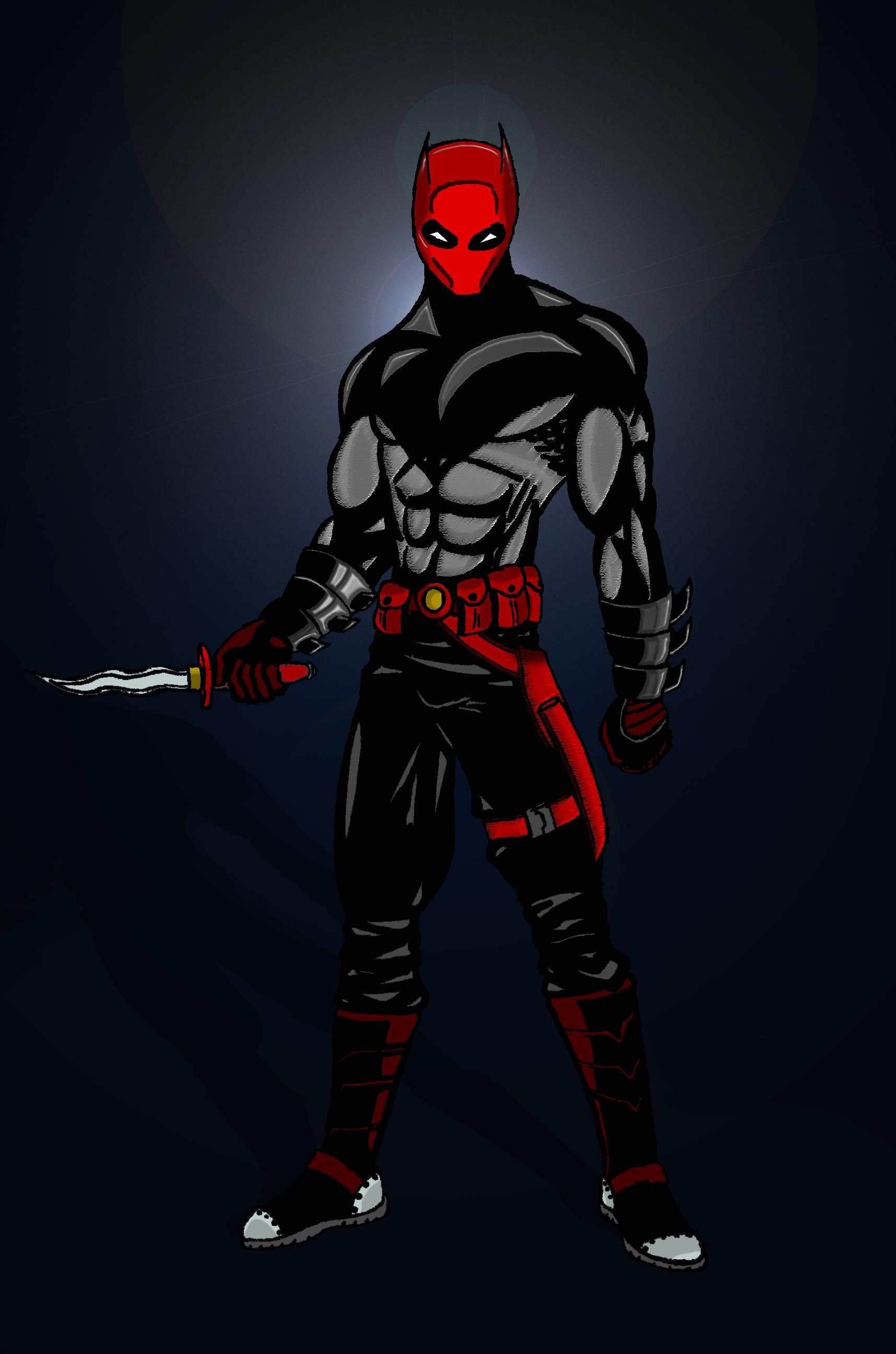 Jason Todd Bat Symbol