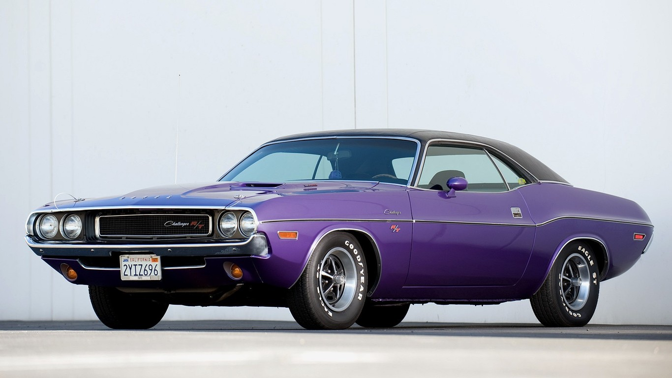 Classic Muscle Cars Wallpaper Wallpapersafari