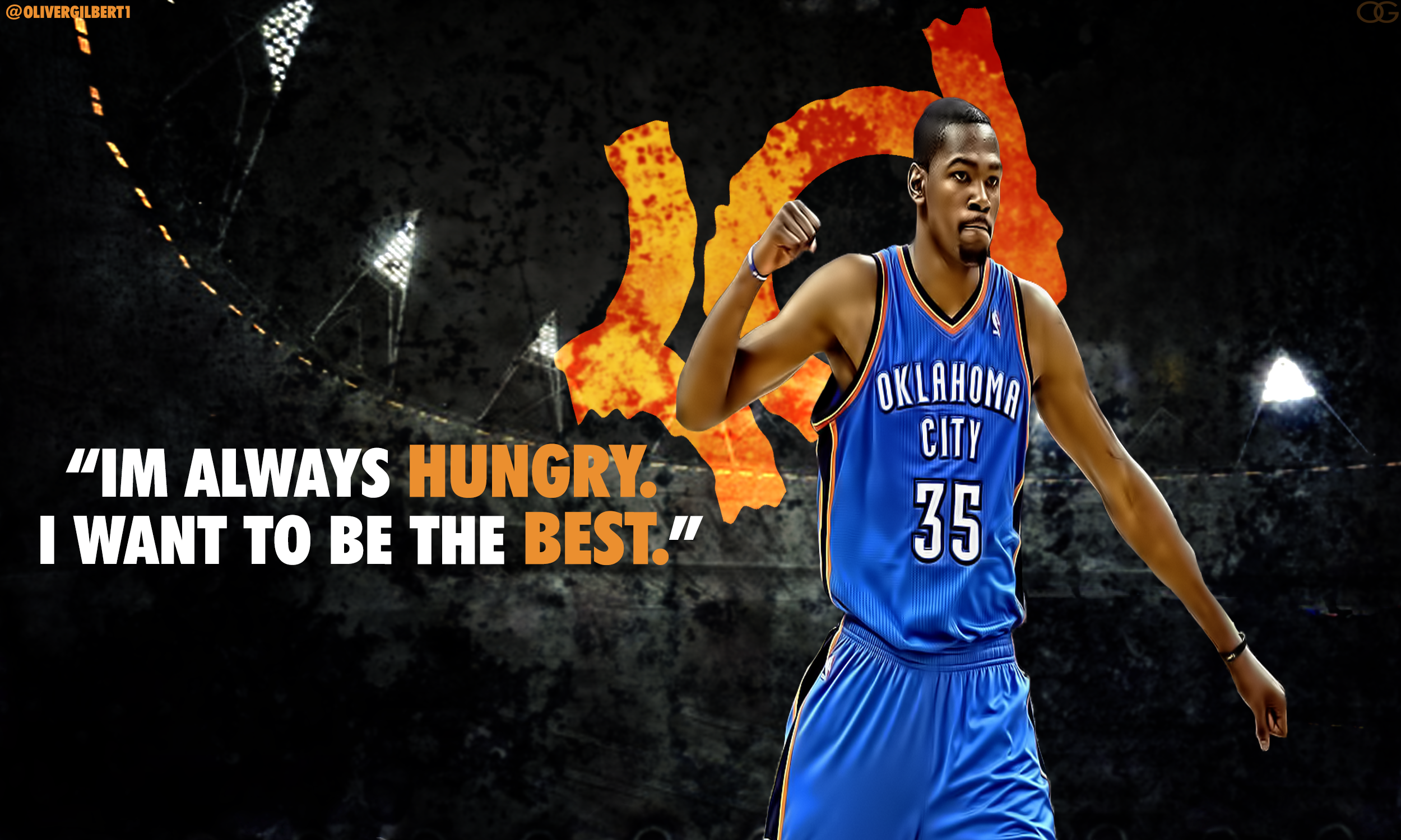 Kevin Durant Wallpaper Quotes   HD Background 2500x1500