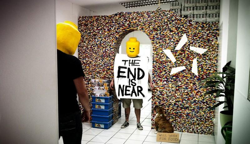 Lego Brick Wallpaper Bedroom Walls 800x463