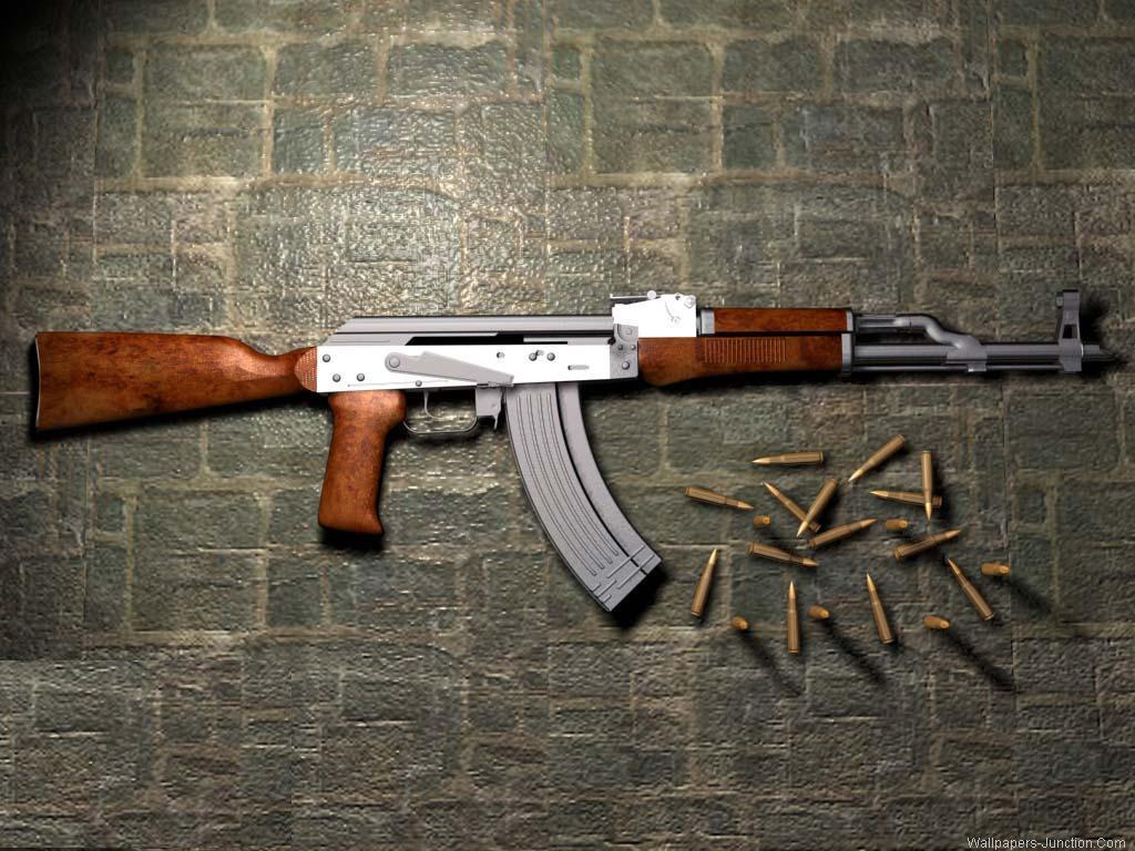 AK 47 Wallpaper   Do It 1024x768