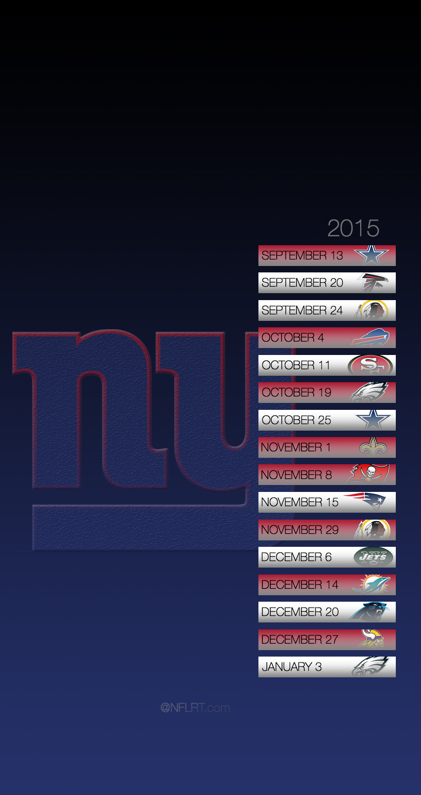 Free Download New York Giants 852x1608 For Your Desktop Mobile