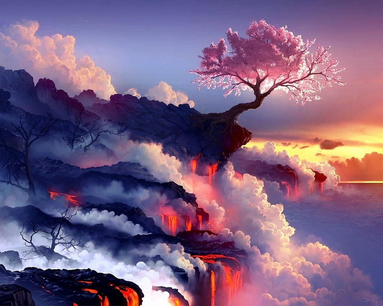 Volcanoes Wallpaper 26   1280 X 1024 stmednet 1280x1024