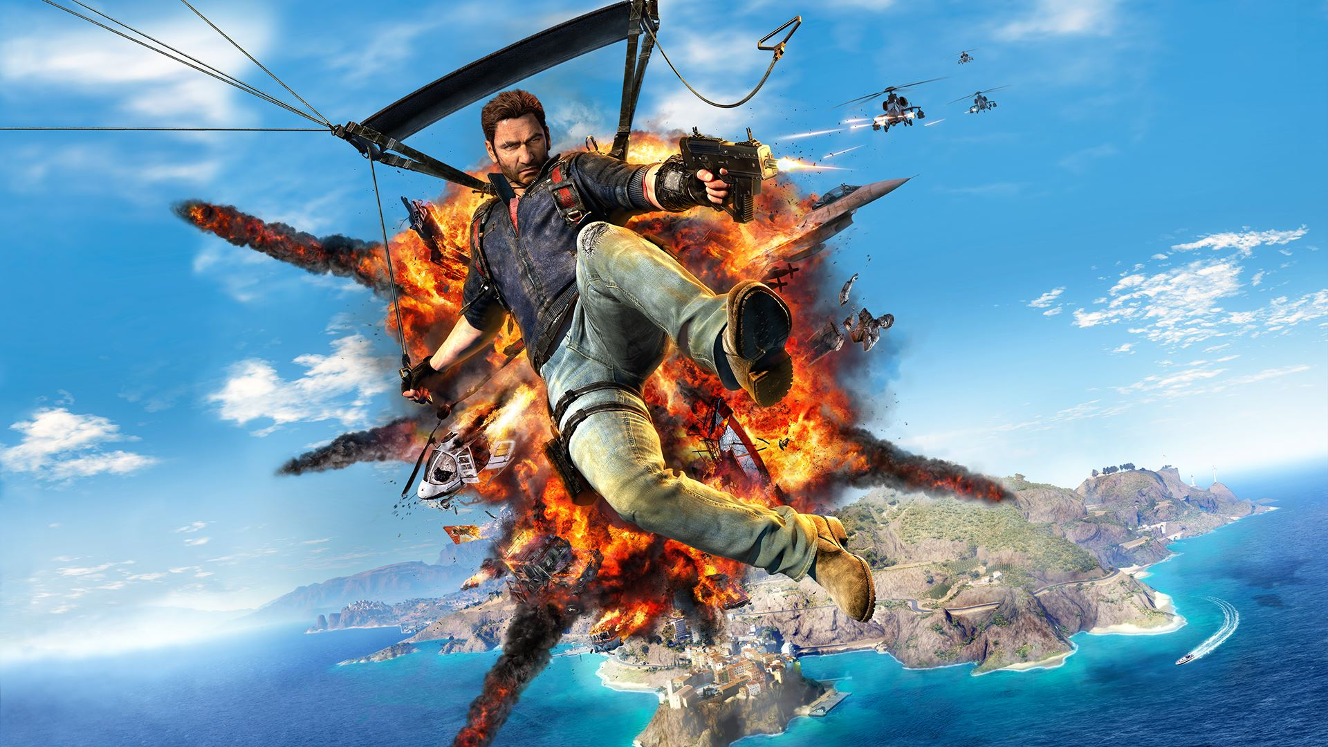40 Just Cause 3 HD Wallpapers Backgrounds 1920x1080