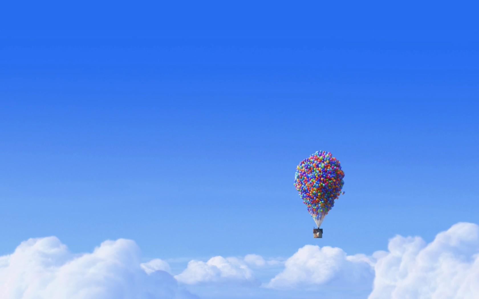 Balloon house   Up wallpaper 4785 1680x1050
