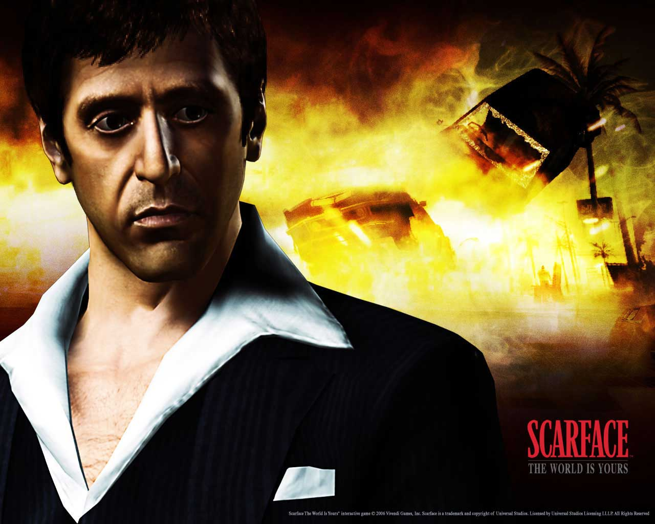 Scarface Wallpapers Desktop Wallpaper Best of Scarface 1280x1024