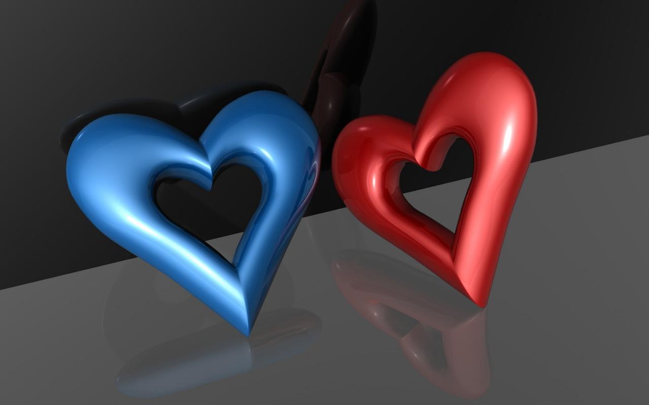 Games Wallpapers 3D Heart Wallpapers   Download Heart 1280x800