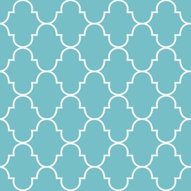 Trellis Wallpaper Tiffany Blue 25x75   Contemporary   Wallpaper 640x640