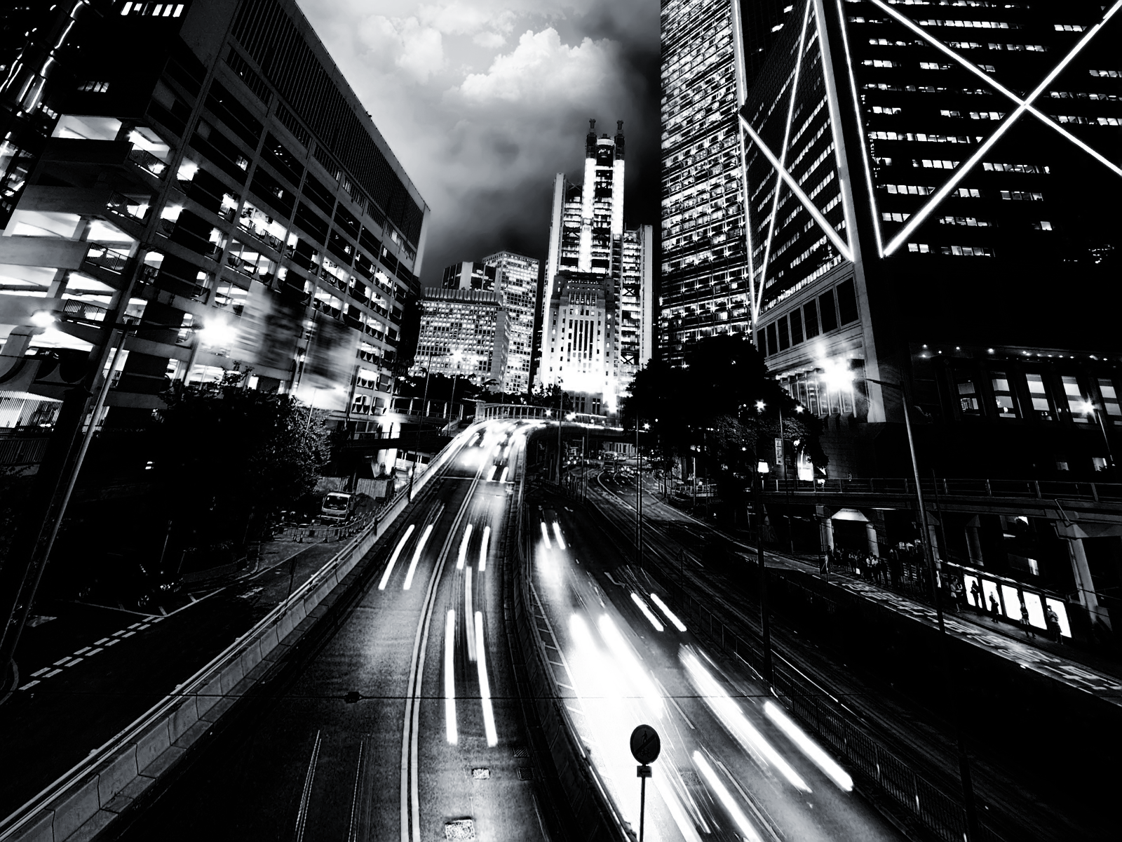 the best black and white desktop wallpapers that you can set up on 1600x1200