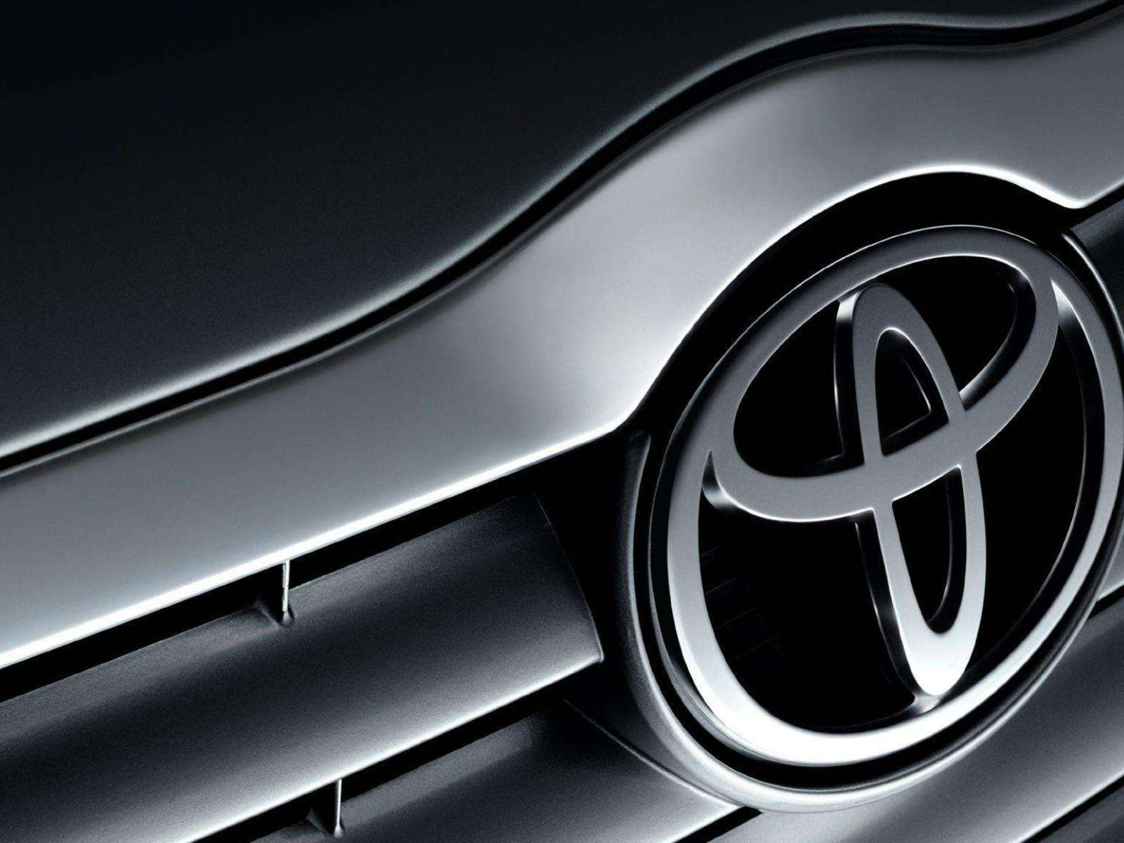 Toyota Grille Logo Wallpaper   Download Wallpaper from 1600x1200