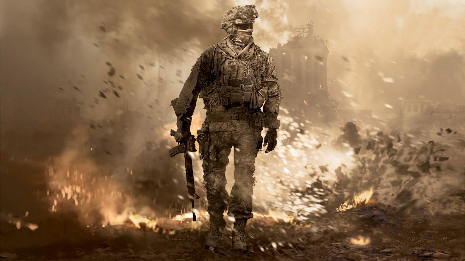 Call of Duty hd wallpaper 1600x900