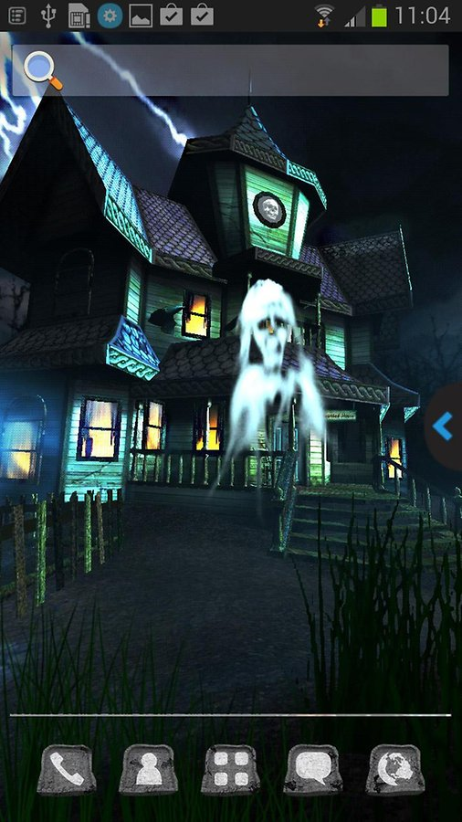UR 3D Haunted House Live Theme   Android Apps and Tests   AndroidPIT 506x900