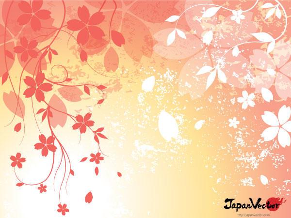 Sakura: Japanese Cherry Blossom Background Vector | 123Freevectors