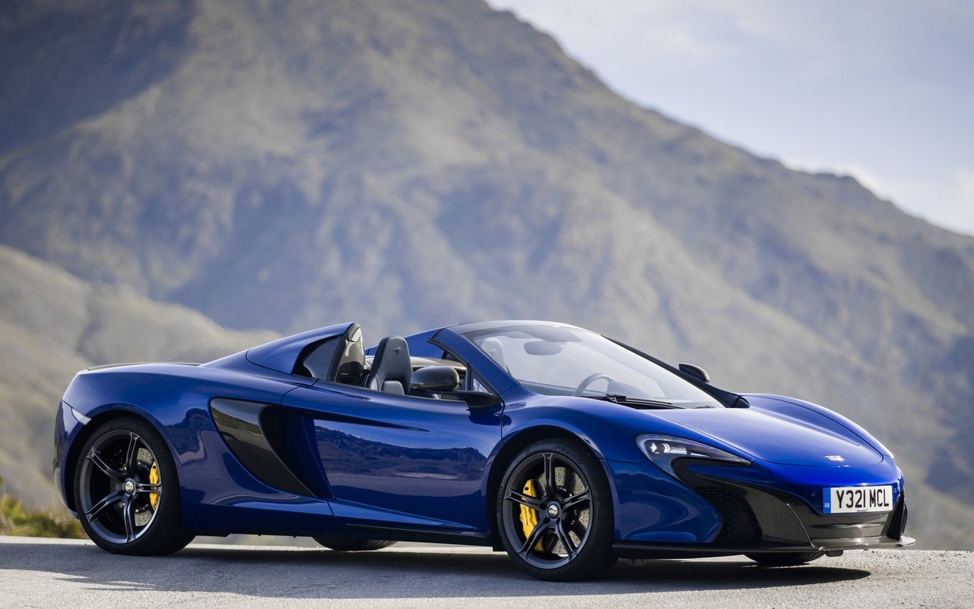 2015 McLaren 650S Convertible Supercar Wallpaper   HD 1920x1200