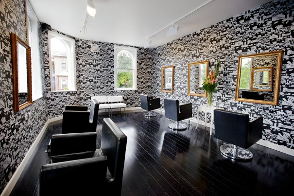 Hair Salon Wallpaper Stevie english salon at 605x403