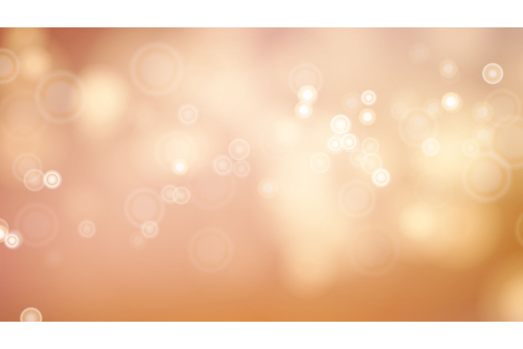 Abstract Autumn Nature Background Vector Blurred Warm Bokeh 1820x1214