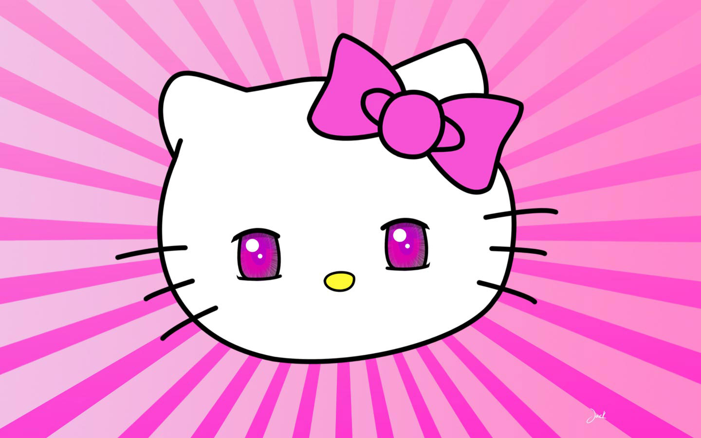 Pink Hello Kitty Wallpaper Auto Design Tech 1440x900