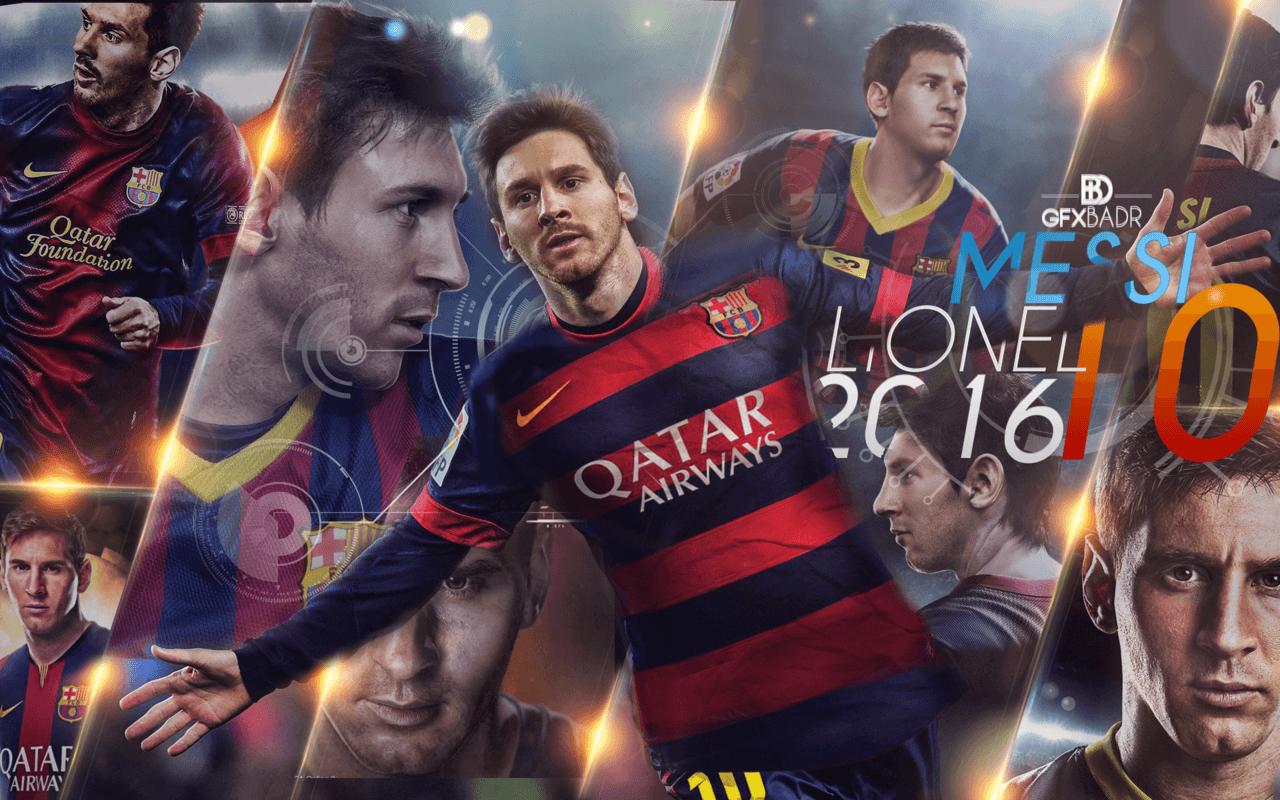 Messi Backgrounds 2016 1280x800