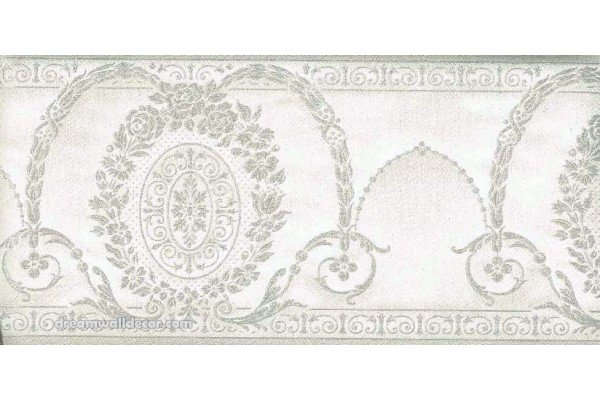 Home Green Decorate Molding Wallpaper Border 600x400