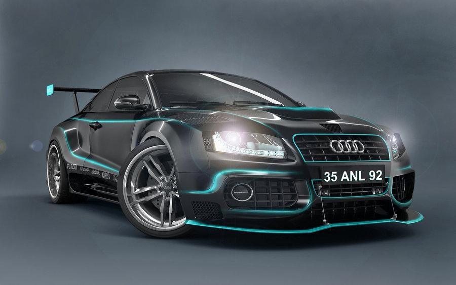 Audi Car Design 3D Wallpaper 3D Audi Car Wallpapers 3 Dimensional 900x563