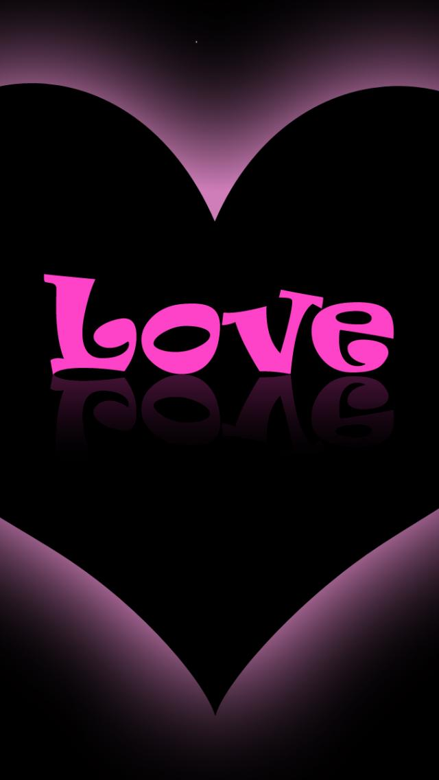 50 love pink wallpapers for iphone on wallpapersafari - Lovely wicked iphone wallpaper ...