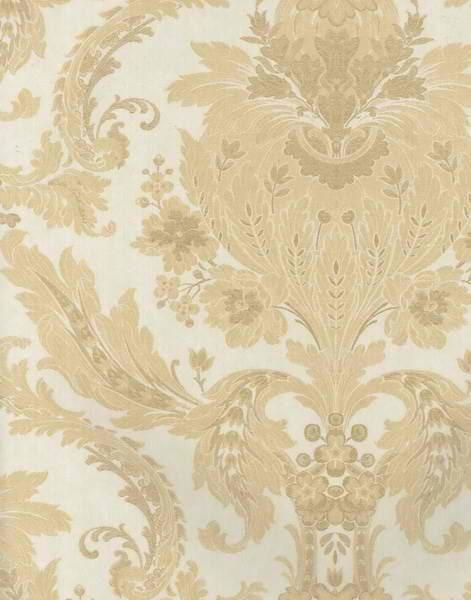 Beige Elegant Damask Wallpaper   Lodge Outdoors Wallpaper 471x600