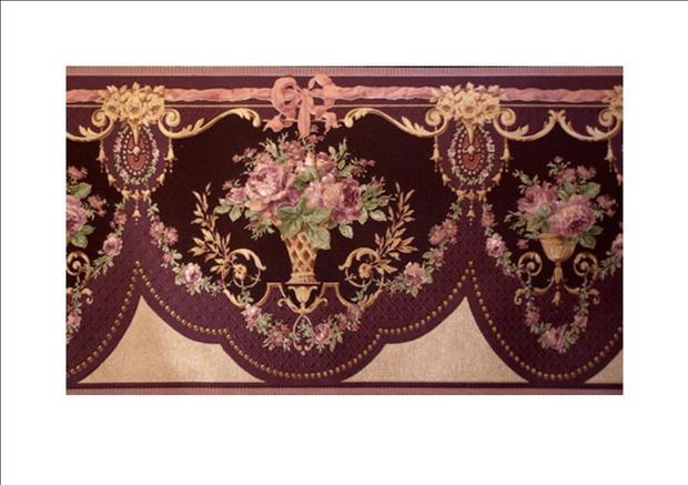 Elegant Victorian Wallpaper Borders Wallpapersafari