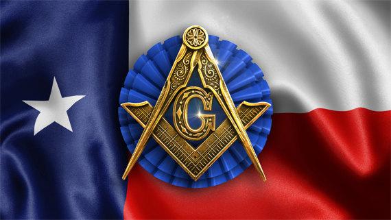 Texas Freemason Masonic Flag Wallpaper 570x321
