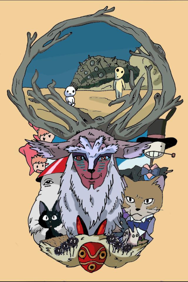 50+] Studio Ghibli Wallpaper deviantART on WallpaperSafari