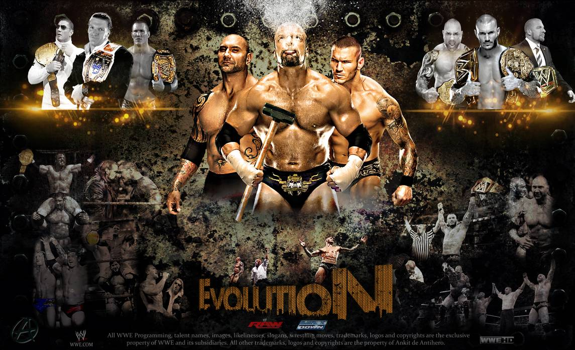 WWE Evolution Wallpaper 2014 by TheSpearstar 1145x698