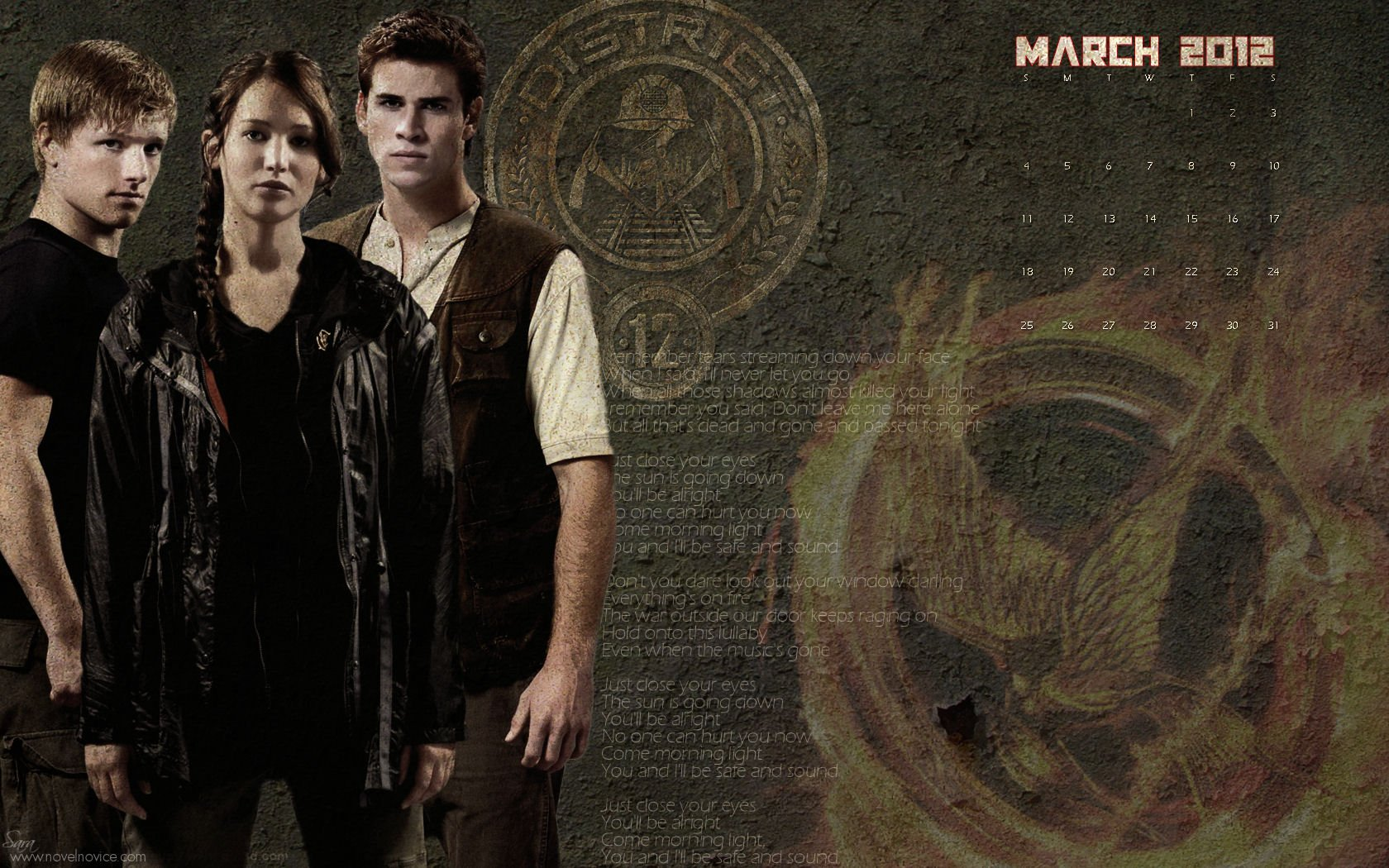 The Hunger Games Wallpapers the hunger games 28043727 1680 1050jpg 1680x1050