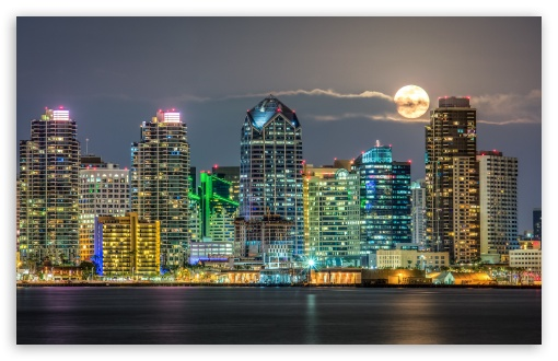 San Diego Skyline HD wallpaper for Wide 1610 53 Widescreen WHXGA 510x330